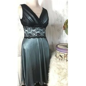 NWT Coldwater Creek Evening Dress 12 Shimmer $120